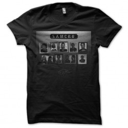 t-shirt samcro crew black...