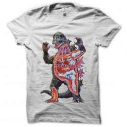 tee shirt godzilla anatomy...