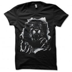 T-shirt Cougar torn black...