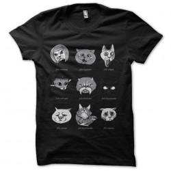 tee shirt cats sublimation