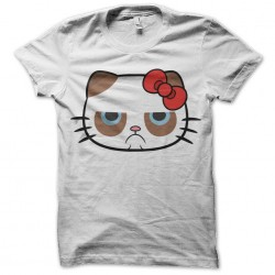 Grumpy Hello Kitty t-shirt...