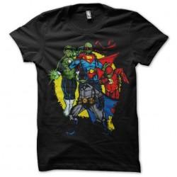 tee shirt Super Hero...