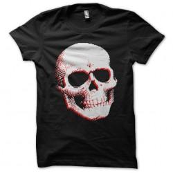 t-shirt skull design black...