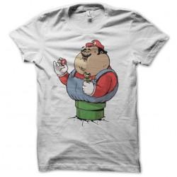 tee shirt obese mario  sublimation