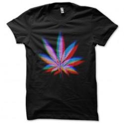 tee shirt marijuana design art 3D  sublimation