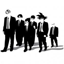 tee shirt dragon ball gang...