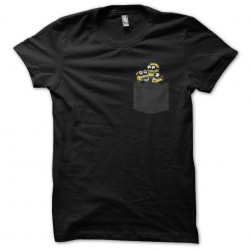 pocket shirt minions black...