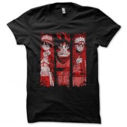 t-shirt luffy naruto goku...