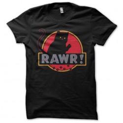 Rawr shirt black sublimation
