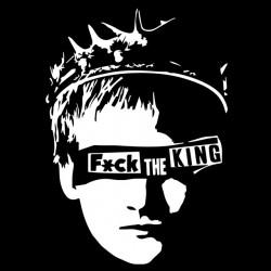 tee shirt fuck the king...