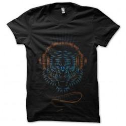 tee shirt design lion music...
