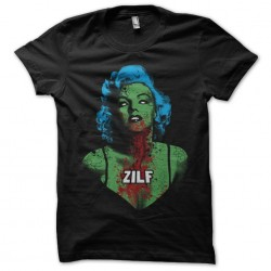 shirt marilyn monroe zombie...