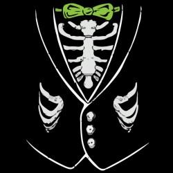 tee shirt skeleton shirts black sublimation