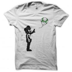 tee shirt mario shirts  sublimation