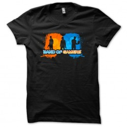 tee shirt band of gamers...