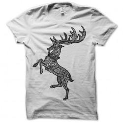 t-shirt house baratheon sigil white sublimation