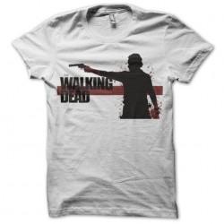 T-shirt walking dead artwork white sublimation