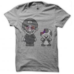 tee shirt mario bros grow...