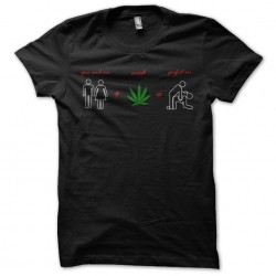 tee shirt you and me weed perfect sex  sublimation