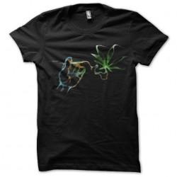 tee shirt marijuana smoke...