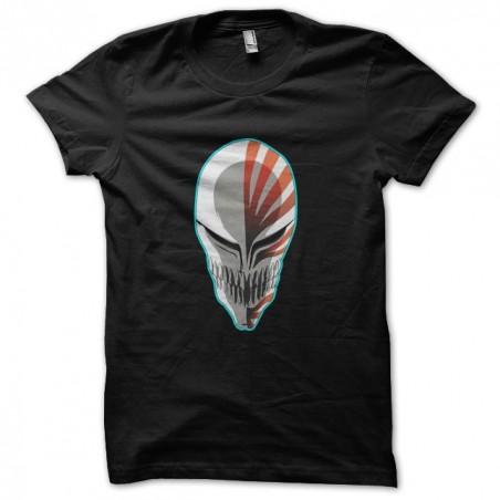 Hollow mask black sublimation t-shirt