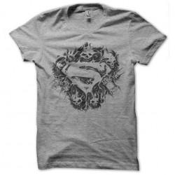 tee shirt superman skull...