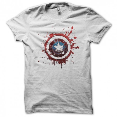 Captain american coat of arms blazon graphic white sublimation