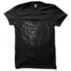 tee shirt tiger art design...