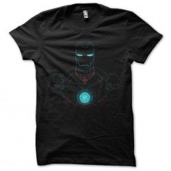 t-shirt iron man design...