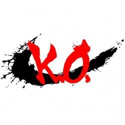 ko white sublimation t-shirt