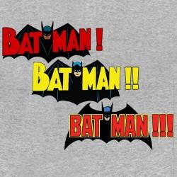 Batman gray sublimation