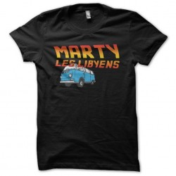 T-shirt Marty the Libyans...