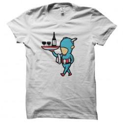 t-shirt job special captain white sublimation