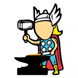 t-shirt job special Thor...