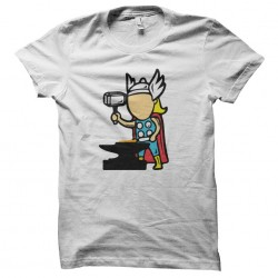 t-shirt job special Thor white sublimation
