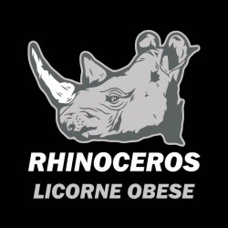 tee shirt rhinoceros vs licorne  sublimation