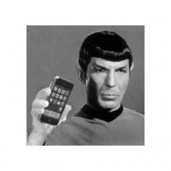 tee shirt spock iphone white sublimation