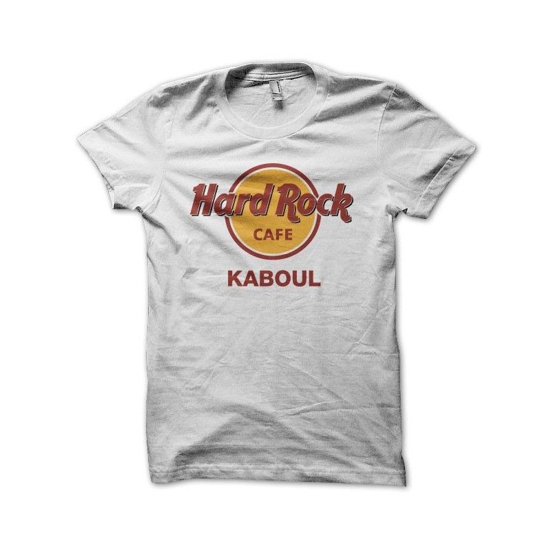tee shirt Hard Rock Café Kaboul mixtes en