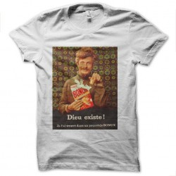 T-shirt bonux god exists white sublimation