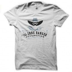 t-shirt the lone ranger white sublimation