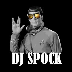 tee shirt dj spock black sublimation