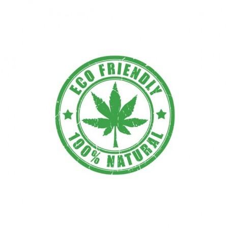 Cannabis Eco Friendly T-Shirt white sublimation
