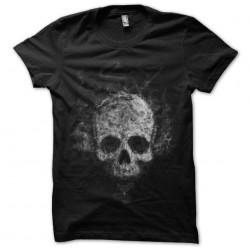 tee shirt smoke squelette...