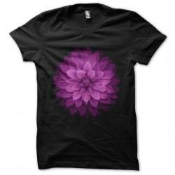 tee shirt flower black...
