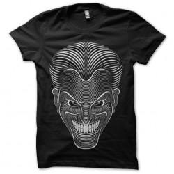 joker t-shirt design black...