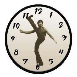 t-shirt bruce lee clock...