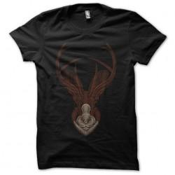 tee shirt deer design art...