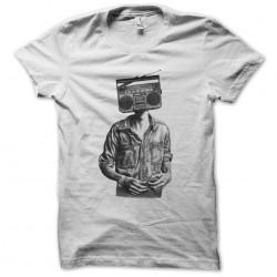 t-shirt radio head white...