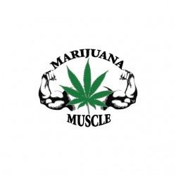 Tee shirt Marijuana Muscle...