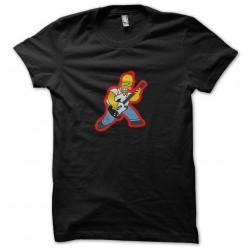 t-shirt homer rockstar...